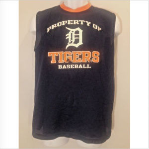 "Other - Detroit Tigers ""Property of"" Athletic Tank Top"